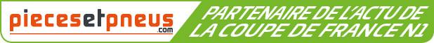 PiecesEtPneus, Partenaire de l'actu de la Coupe de France N1
