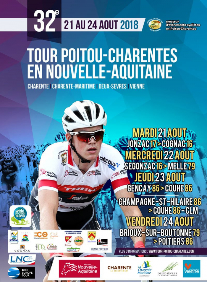 Calendrier Ffc Poitou Charentes 2021 Tour du Poitou Charentes : L'édition 2018 dévoilée   Actualité