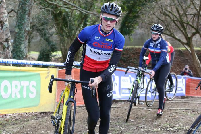 Cyclo-Cross : Vainqueur à Pontchâteau, Wout Van Aert prend la tête de la Coupe du monde