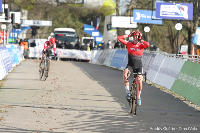 Amandine Fouquenet, ancienne de l'UC Sud 53, championne de France — Cyclo-cross