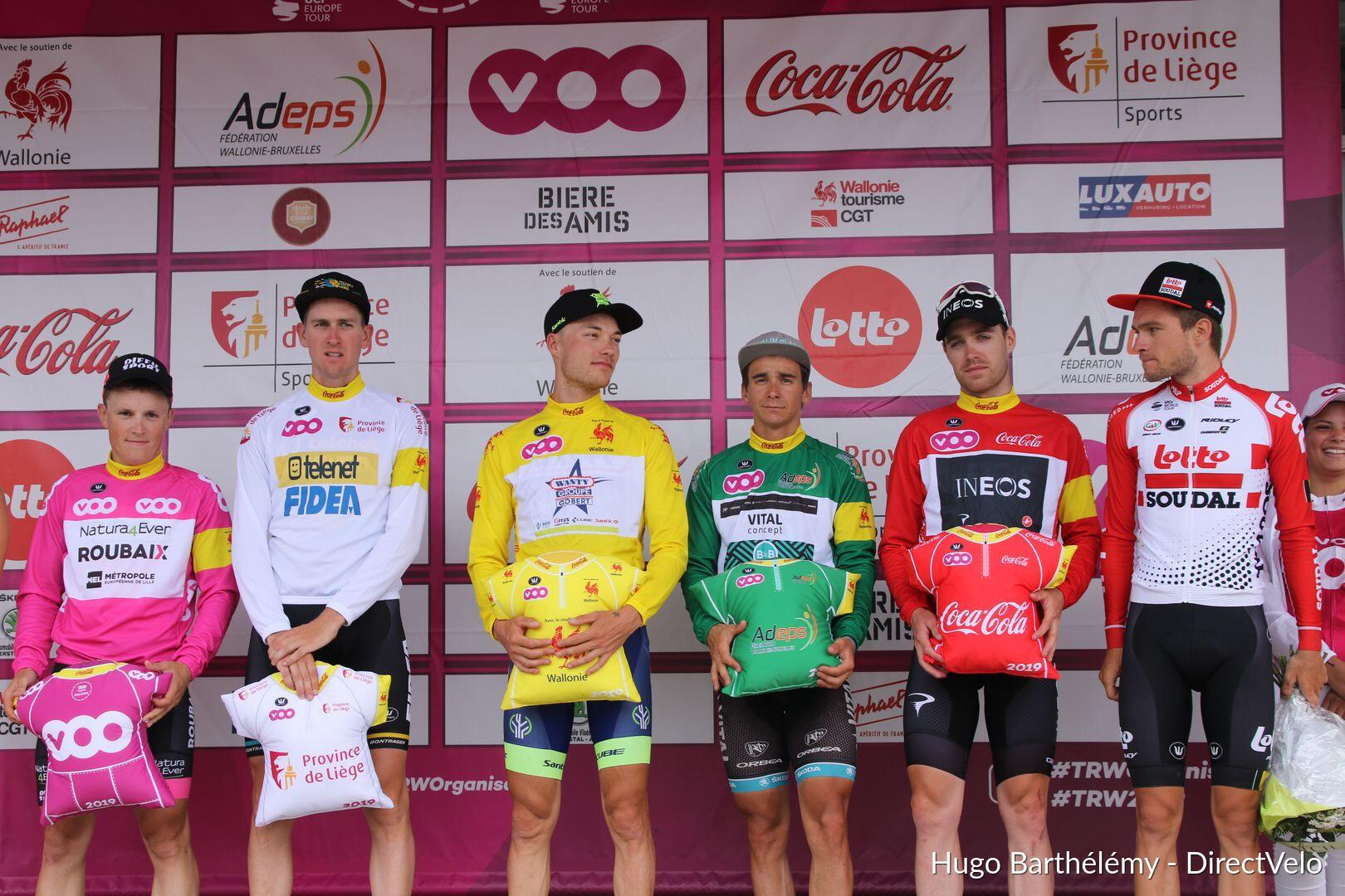 Le Tour de Wallonie n'abandonne pas - Actualité - DirectVelo